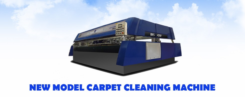 New model carpet machine